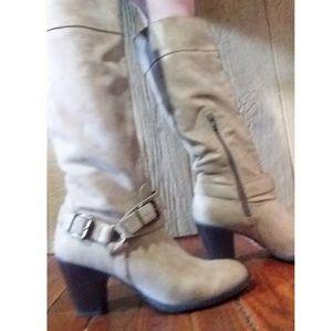 Just fab tan boots